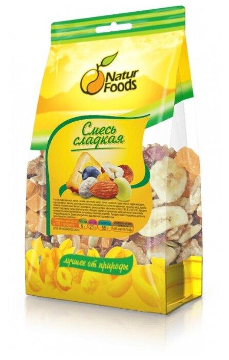 Смесь орехов и сухофруктов NaturFoods сладкая 130 г