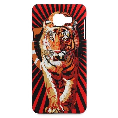 Купить Чехол Pastila Luxo Animals soft touch для Samsung Galaxy A7 (2016) тигр