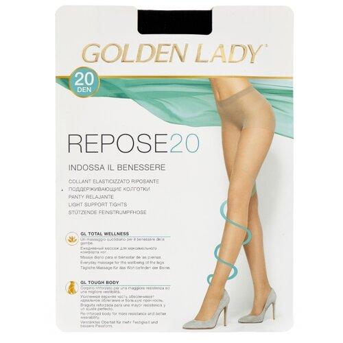 Колготки Golden Lady Repose 20 den, размер 4-L, nero (черный) колготки golden lady bodyform 20 den размер 4 l nero черный