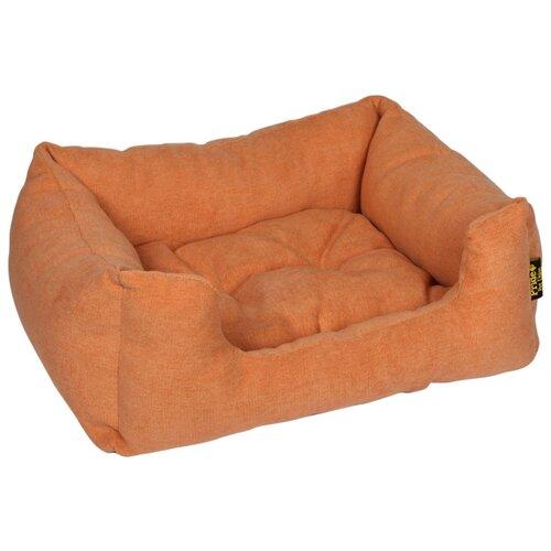 Лежак для собак и кошек PRIDE Резот 70х59 см персиковый