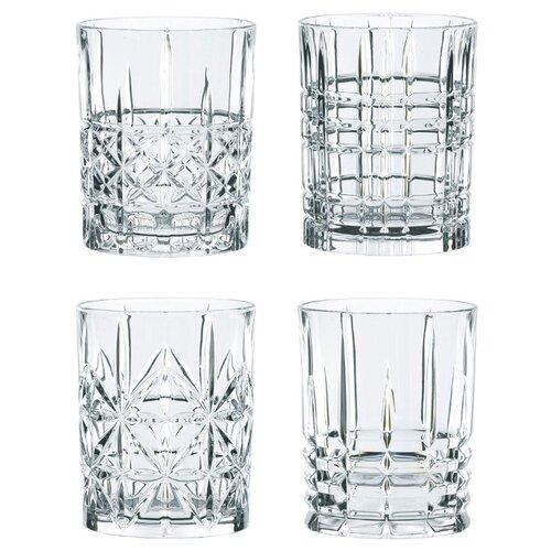 Фото - Nachtmann Набор стаканов Highland Tumbler 95906 4 шт. 345 мл бесцветный стакан низкий highland 345 мл серый 97443 nachtmann