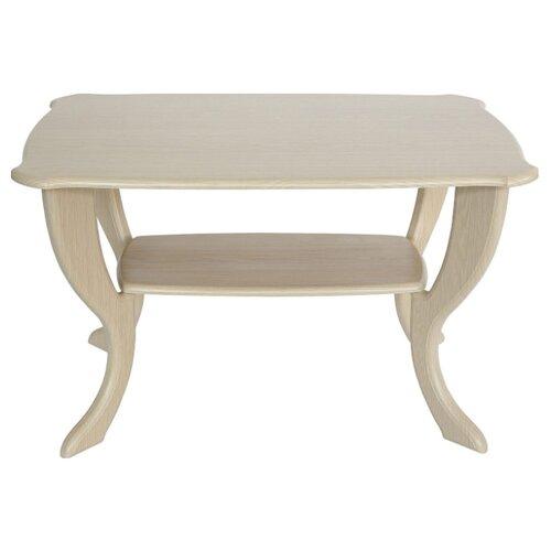 Столик журнальный Калифорния мебель Маэстро СЖ-01, ДхШ: 90 х 60 см, дуб детские столы и стулья калифорния мебель стол журнальный маэстро сж 01