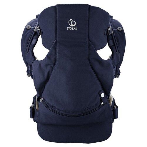 Купить Эргорюкзак Stokke MyCarrier Front deep blue, Рюкзаки и сумки-кенгуру
