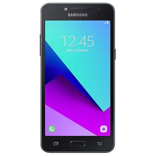 Смартфон Samsung Galaxy J2 Prime SM-G532F полностью черный (SM-G532FTKDSER) for samsung galaxy j2 prime case silicone ultra thin cover aninal for case samsung j2 prime j2prime g532f sm g532f phone cases
