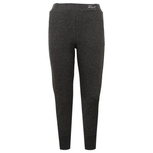 Брюки Karl Lagerfeld Z14101 размер 174, серый брюки akimbo серый 46 размер