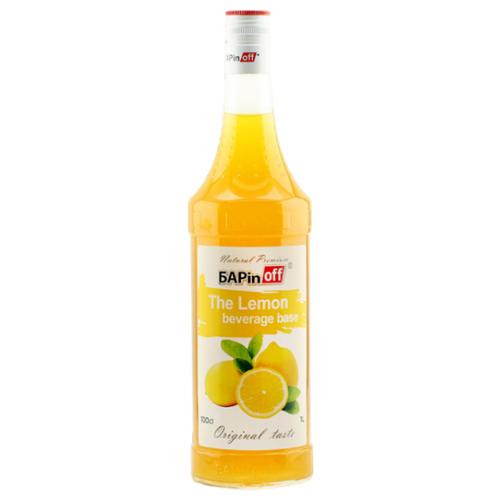 сироп barinoff айриш крим 1 л Сироп Barinoff Лимонная основа 1 л