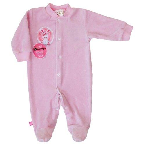 Комбинезон KotMarKot размер 80, розовый комбинезон утепленный для девочки batik торопыжка цвет розовый 147 19з размер 86