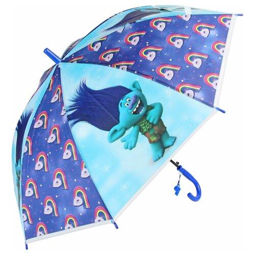 Зонт Amico синий/голубой