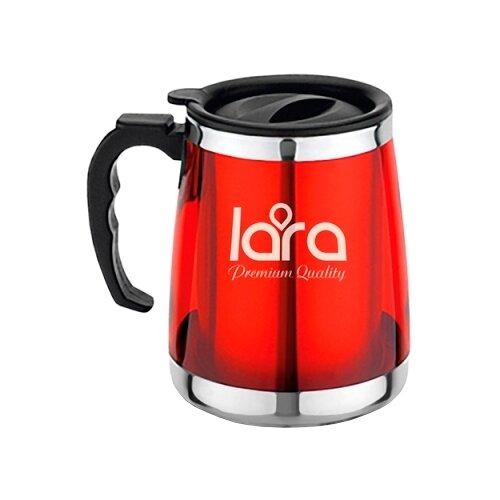 Термокружка LARA LR04-39 (0,5 л) красный lara fabian paris