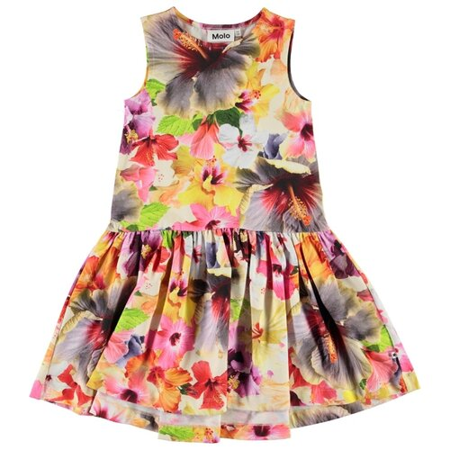Платье Molo Candece Pacific Floral размер 92-98, 6067 Pacific Floral платье molo размер 134 140 8151 cher