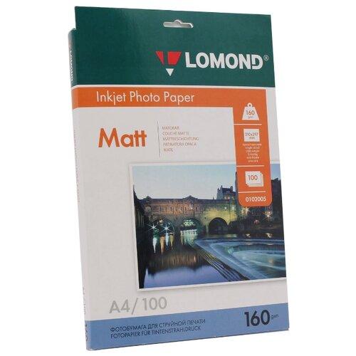 Фото - Бумага Lomond A4 Photo Paper 0102005 160 г/м² 100 лист. белый 1 шт. бумага lomond 0102005 photo матовая 1стор