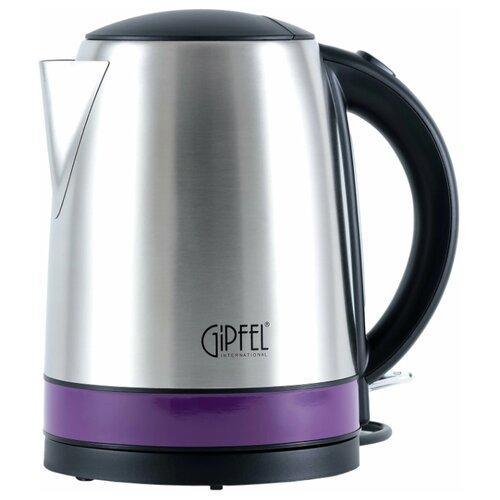 Чайник GIPFEL 2007, серебристый/фиолетовый