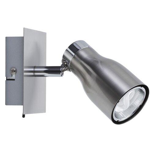 Светильник настенный Meli 1x8W GU10 230V никель лощеный (с вкл) 66583