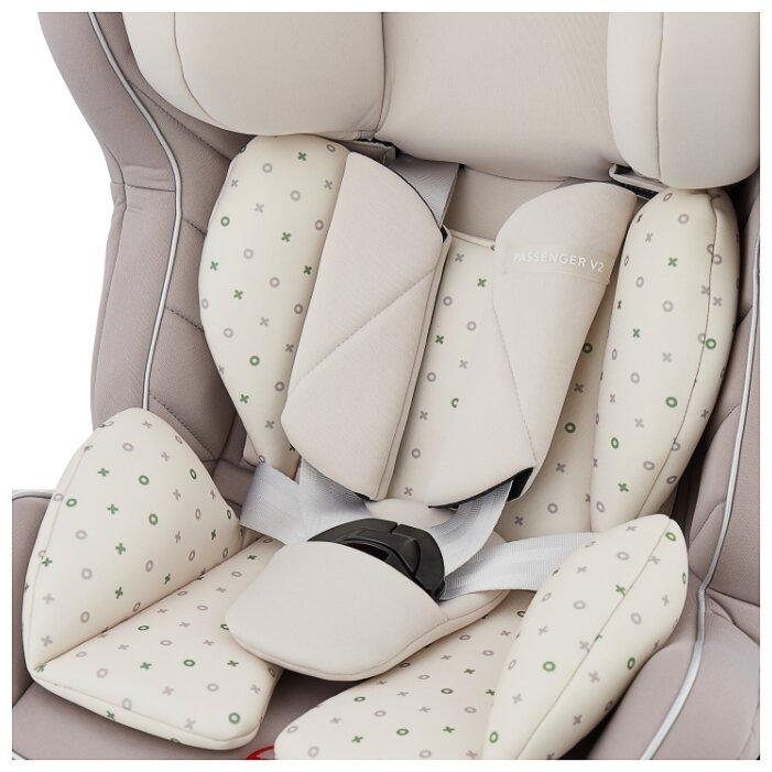 Автокресло группа 0/1/2 (до 25 кг) Happy Baby Passenger V2