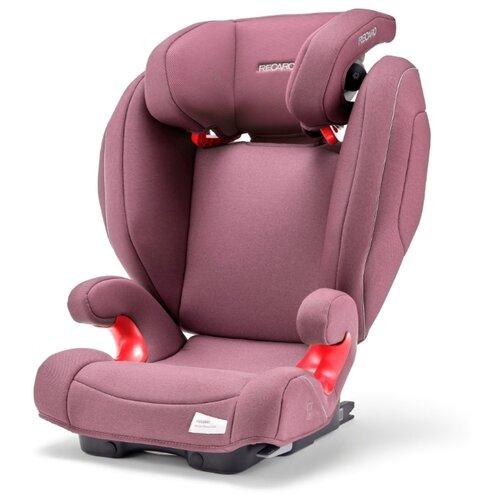 Автокресло группа 2/3 (15-36 кг) Recaro Monza Nova 2 SeatFix, Prime Pale Rose автокресло recaro monza nova 2 seatfix prime pale rose антисептик спрей для рук в подарок