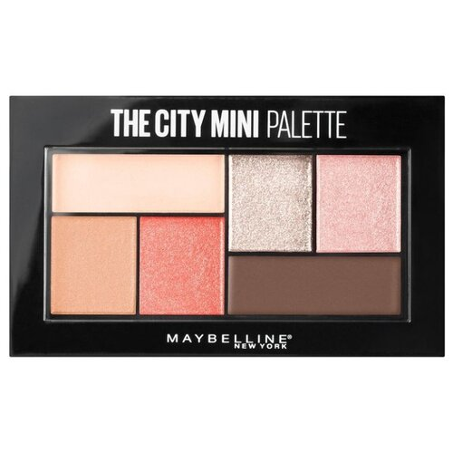 Maybelline New York Палетка теней для век The city mini 430 downtown sunrise недорого