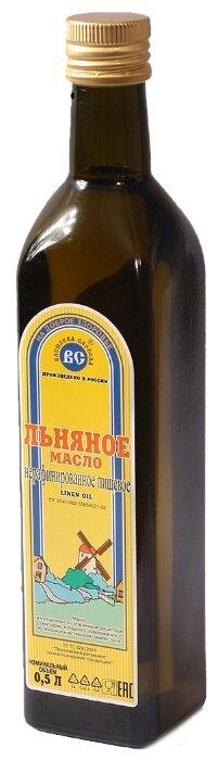 Василева Слобода Масло льняное нерафинированное пищевое, стеклянная бутылка