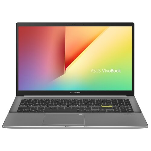 Купить Ноутбук ASUS VivoBook S15 M533IA-BQ121T (AMD Ryzen 5 4500U 2300MHz/15.6 /1920x1080/8GB/256GB SSD/DVD нет/AMD Radeon Graphics/Wi-Fi/Bluetooth/Windows 10 Home) 90NB0RF3-M02200 Indie Black & Star Grey