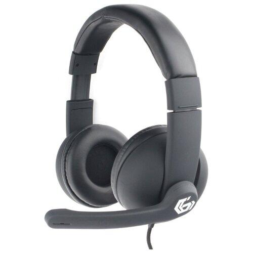 Компьютерная гарнитура Gembird MHS-G220 черный недорого