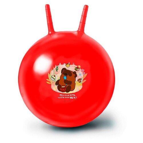 Купить Мяч-попрыгун ЯиГрушка Винни Пух красный, Мячи и прыгуны