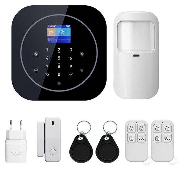 Купить Беспроводная охранная WIFI/GSM сигнализация PS-link G12 по низкой цене с доставкой из Яндекс.Маркета (бывший Беру)