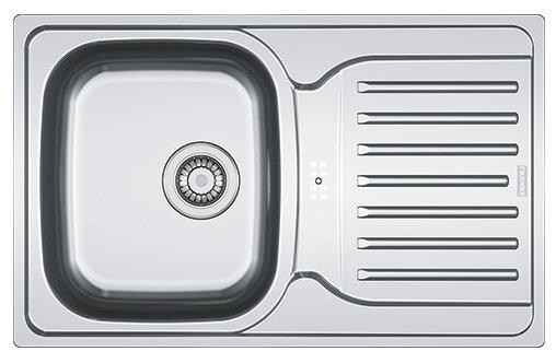 Врезная кухонная мойка FRANKE PXN 614-78 78х49см нержавеющая сталь