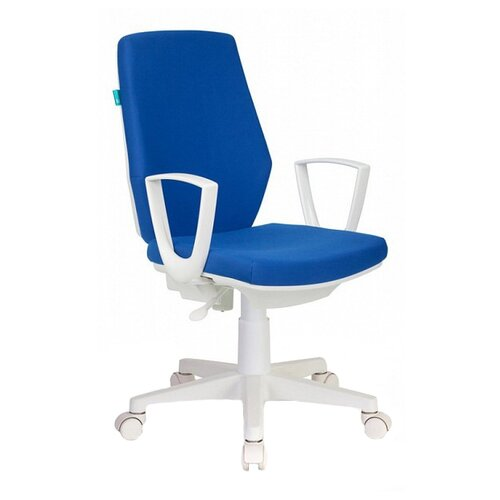 Компьютерное кресло Бюрократ CH-W545 офисное, обивка: текстиль, цвет: синий цена 2017