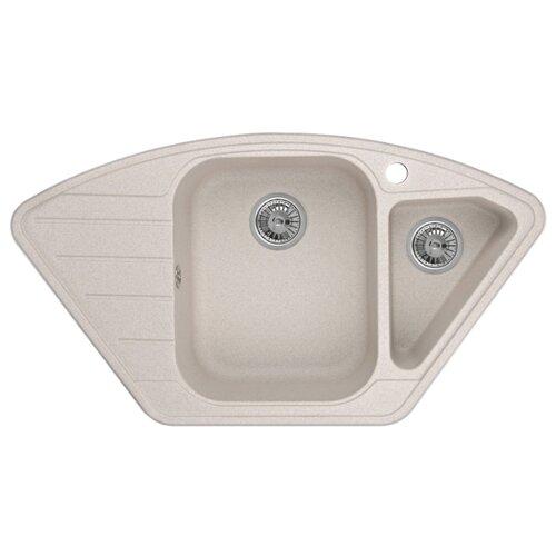 Фото - Врезная кухонная мойка 89 см Granula 9101 антик врезная кухонная мойка 57 5 см granula 5802 антик