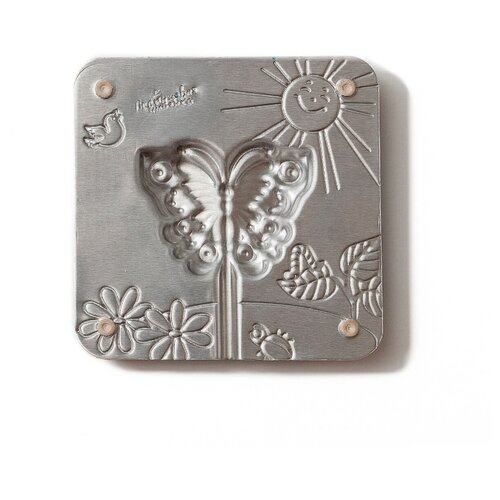 Форма для мармелада Леденцовая фабрика Бабочка (0001) серебристый