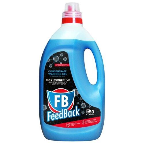 Гель FeedBack для стирки белого и цветного белья, 2 л, бутылка