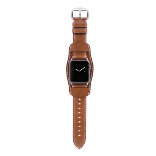 Kajsa Ремешок кожаный Retro Collection для Apple Watch 38/40 mm коричневый