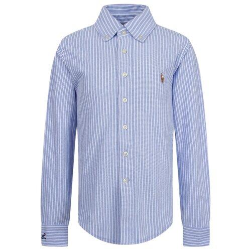 Рубашка Ralph Lauren размер 140, голубой