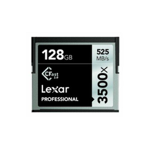 Карта памяти Lexar Professional 3500x CFast 2.0 128GB