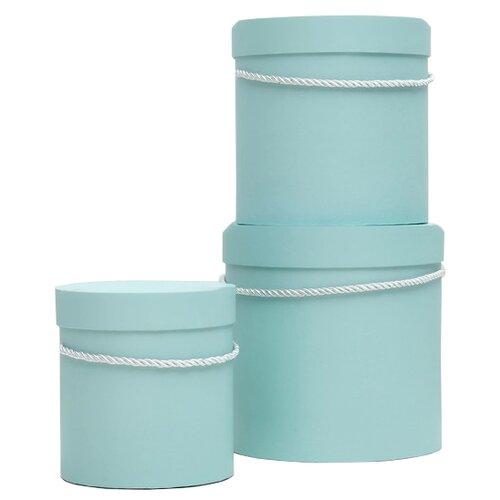 Фото - Набор подарочных коробок Shantou Jin Wei Ming Arts & Crafts Product однотонный, 3 шт. зеленый набор подарочных коробок tai an baoli paper product co ltd фауна 17 шт желтый