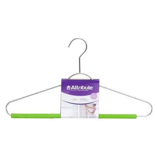 вешалка для рубашек attribute hanger eva цвет черный длина 41 см Вешалка Attribute Универсальная Eva зеленый