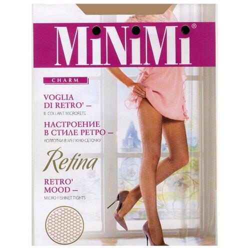 Колготки MiNiMi Retina caramello 4-L (MiNiMi)Колготки и чулки<br>