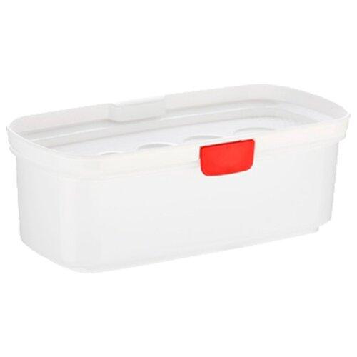 Контейнер для варки спагетти Tescoma PURITY MicroWave 705026 белый/прозрачный