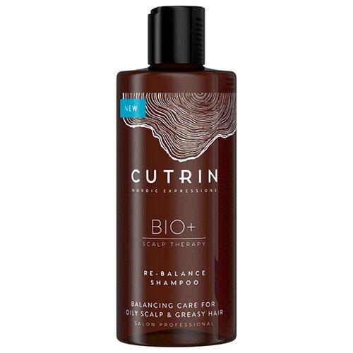 Купить Cutrin шампунь Bio+ Re-Balance для жирной кожи головы и волос, 250 мл