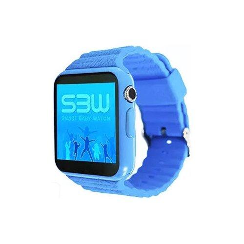 Детские умные часы Smart Baby Watch SBW 2, голубой детские умные часы smart baby watch gw400s голубой