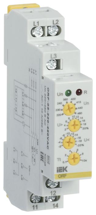 Реле контроля фаз IEK ORF-05-220-460VAC — купить по выгодной цене на Яндекс.Маркете