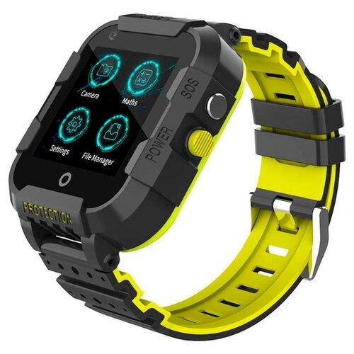 Детские умные часы c GPS Smart Baby Watch KT12 черный детские умные часы smart baby watch q80 желтый