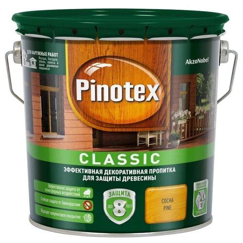 Фото - Водозащитная пропитка Pinotex Classic сосна 2.7 л водозащитная пропитка pinotex classic светлый дуб 1 л
