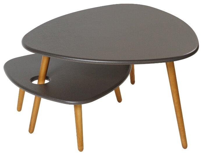 Набор столиков журнальный Калифорния мебель Стилгрей