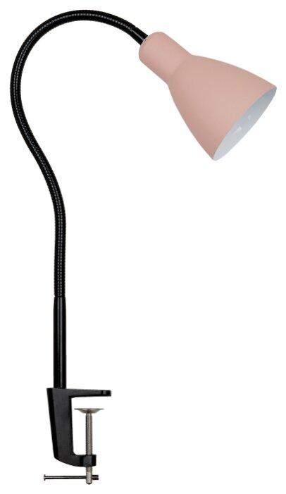 Лампа на струбцине Lucia Школьник S-240 розовая