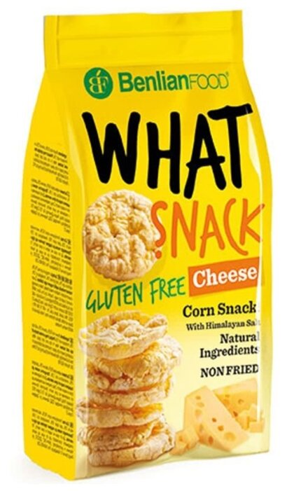 Benlian Foods Кукурузные снэки Benlian Food What snack с сыром 50 г
