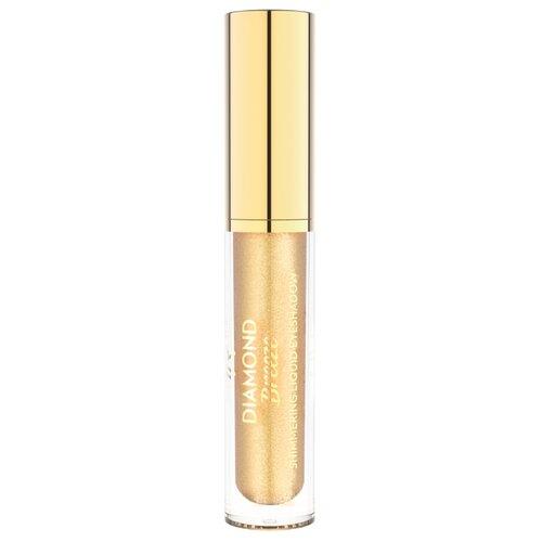 Golden Rose Тени для век Diamond Breeze Shimmering Liquid Eyeshadow 01 24k Gold