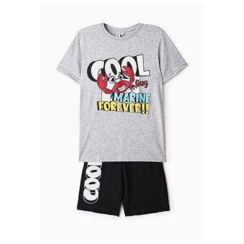 Купить Комплект одежды Elaria размер 140, серый/черный, Комплекты и форма