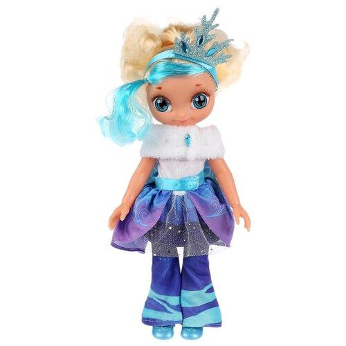 Интерактивная кукла Карапуз Сказочный патруль Снежка Королева бала, 32 см, ST18-32-QS-RU
