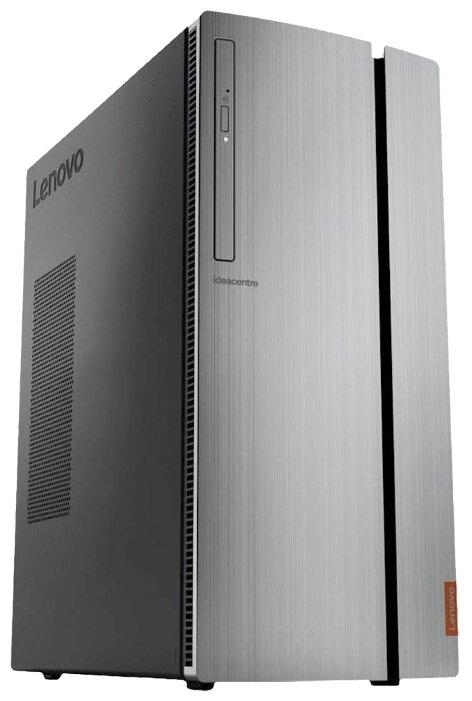 Настольный компьютер Lenovo 720-18ICB (90HT001NRS) Midi-Tower/Intel Core i7-8700/16 ГБ/256 ГБ SSD/2048 ГБ HDD/NVIDIA GeForce GTX 1050 Ti/Windows 10 SL