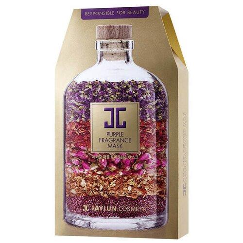 JAYJUN COSMETIC тканевая маска Purple Fragrance на основе растительных экстрактов, 250 мл, 10 шт. jayjun cosmetic тканевая маска purple fragrance на основе растительных экстрактов 250 мл 10 шт